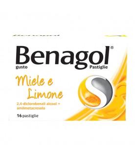 Benagol*16 Pastiglie Miele Limone