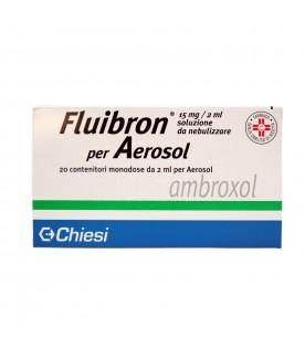Fluibron Aerosol 20 Flaconcini 15mg 2ml