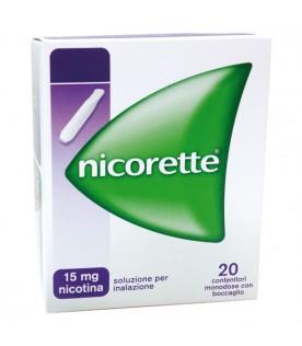 NICORETTE Inhaler Soluzione per Inalazione 20 cartucce 15 mg