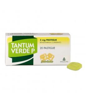 Tantum Verde P 20 Pastiglie 3mg Limone