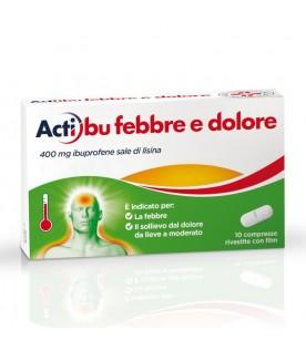 ACTIBU F&D 400mg 10 Cpr