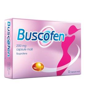 Buscofen 12 Capsule Molli 200 mg