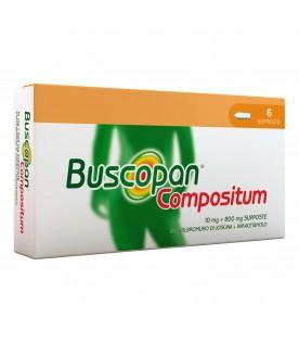 Buscopan Compositum 6 supposte