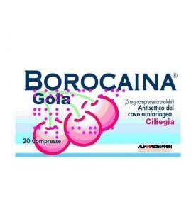 Borocaina Gola*20cpr 1,5mg Cil