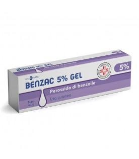 Benzac gel 40g 5%