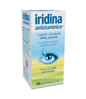 Iridina Antistaminico collirio 10mg/ml+8mg/ml 10 ml