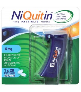 NIQUITIN Mini 20 Past.4mg