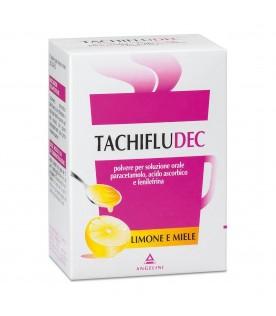 Tachifludec 10 bustine Limone e Miele
