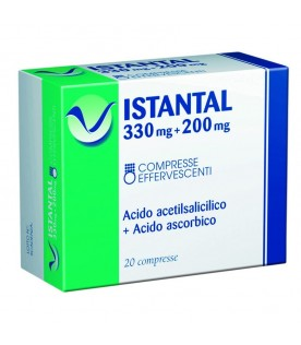 ISTANTAL 20 Cpr Eff.330+200mg