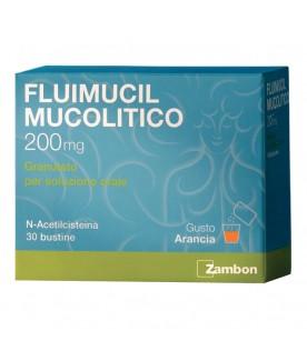 Fluimucil Mucolitico Soluzione Orale 30 Bustine 200mg