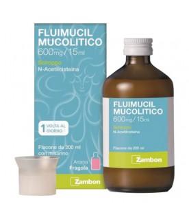 Fluimucil Mucolitico - Sciroppo per Tosse Grassa - 600mg/15ml