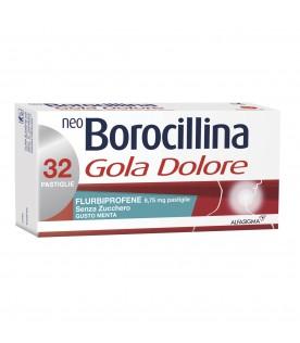 NeoBorocillina Gola Dolore 32 Pastiglie Menta