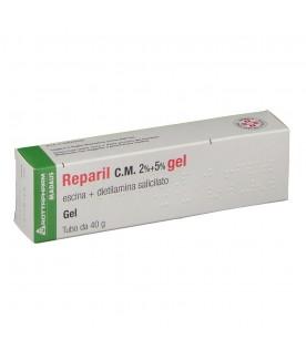 Meda Pharma Reparil gel cm 40g 2%+5%