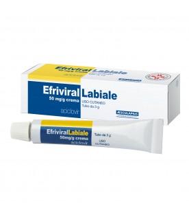 EFRIVIRAL Labiale Crema 5% 3g