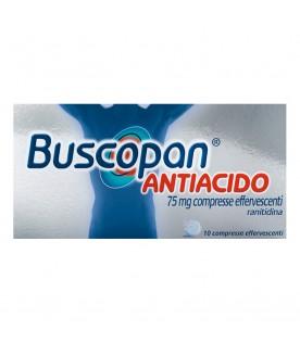 Buscopan Antiacido 10 Compresse Effervescenti 75mg