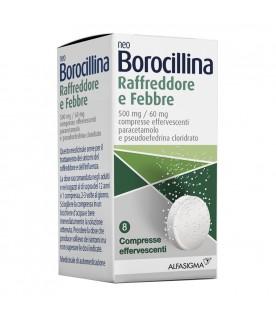 Neoborocillina Raffreddore e Febbre 8 Compresse Effervescenti