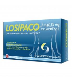 LOSIPACO 12 Compresse 2mg/125mg