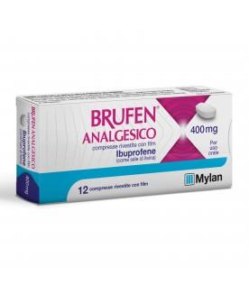 Brufen Analgesico Ibuprofene 12 Compresse 400 mg