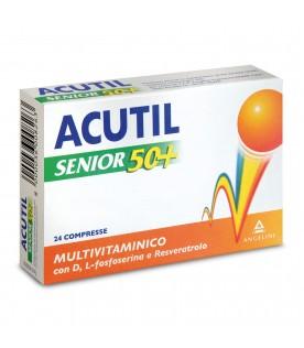 Acutil Multivitaminico Senior 50+ 24 compresse