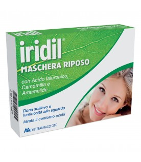 IRIDIL Masch.Riposo Occhi 4pz