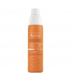 Eau Thermale Avene Spray Corpo SPF 20 Protezione Solare Media 200 ml