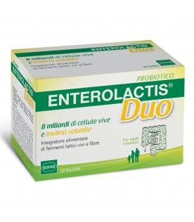 ENTEROLACTIS Duo - Integratore a base di fermenti lattici vivi - 20 bustine