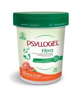 Psyllogel Fibra - Integratore per la regolarità intestinale - Gusto Arance Rosse - Vaso da 170 g