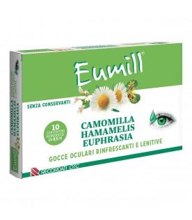 Eumill Gocce Oculari Camomilla Hamamelis Euphrasia 10 Flaconcini Monodose 0,5 ml