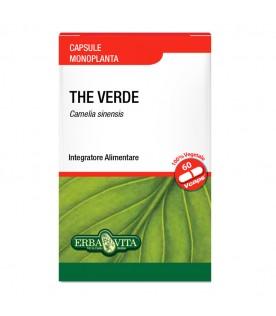 Tè Verde 60 Capsule Monoplanta 400 mg Integratore Alimentare The ErbaVita