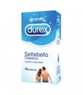 Durex Settebello Classico 18 profilattici