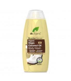Dr Organic Olio di Cocco BagnoDoccia Shampoo 250 ml