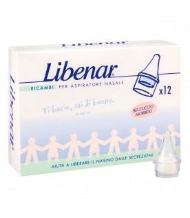 Libenar Ricambi per Aspiratore Nasale 12 Filtri