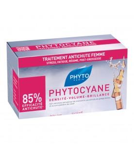 Phyto Phytocyane Trattamento Anticaduta Donna 12 Fiale 7,5ml