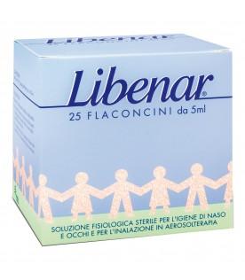 Libenar 25 flaconcini monodose soluzione fisiologica 5ml
