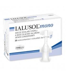 IALUSOL Collirio Monodose 20 flaconcini 0,5ml