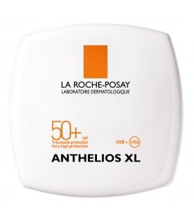 Anthelios XL Crema Compatta Uniformante SPF 50+ Protezione Solare Molto Alta Colore 02 Gold 9 g