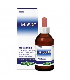 LIETOSON Melatonina Gocce 30ml ErbaVita