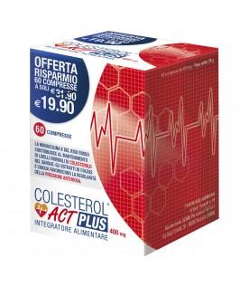 COLESTEROL ACT PLUS - Integratore per il controllo del colesterolo - 60 compresse