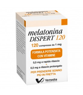 Melatonina Dispert 120 Compresse 1 mg