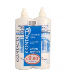 CONTACTA  Soluzione Unica per Lenti a Contatto Bipack 360 ml