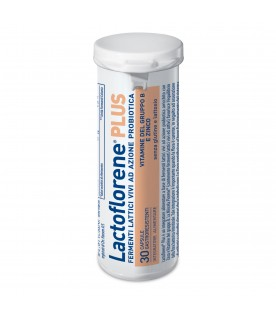 Lactoflorene PLUS - Integratore a base di fermenti lattici vivi - 30 capsule