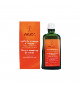 WELEDA Olio Massaggi Arnica 200 ml