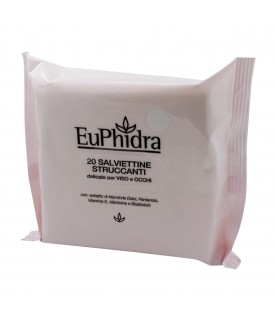 Euphidra Salviettine Struccanti 20pz