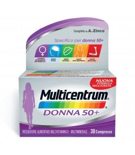 Multicentrum Donna 50+ 30 compresse Nuova Formula