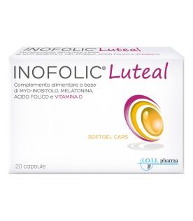 Inofolic Luteal - Integratore per la fertilità della donna - 20 capsule