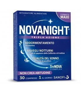 Novanight - Integratore alimentare per insonnia e disturbi del sonno - 30 compresse