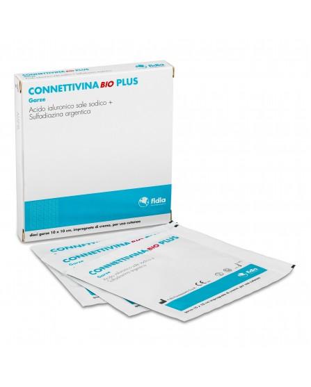 CONNETTIVINA BIO Plus Garza Medicata 10x10 cm 10 garze
