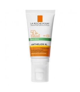 Anthelios XL Gel-Crema Tocco Secco Anti-Lucidità senza Profumo SPF 50+ Protezione Solare Molto Alta 50 ml