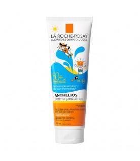 Anthelios Dermo-Pediatrics Pozione Gel Pelle Bagnata Bambini SPF 50+ Protezione Solare Molto Alta 250 ml