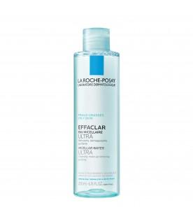 Effaclar Ultra Acqua Micellare Struccante Purificante per Pelle Grassa 200 ml